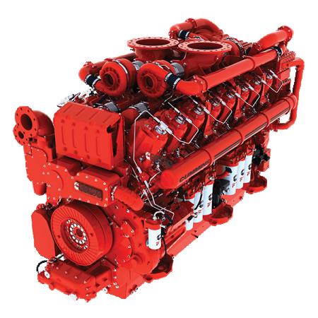 Cummins Engine For Siemens Charger Locomotive