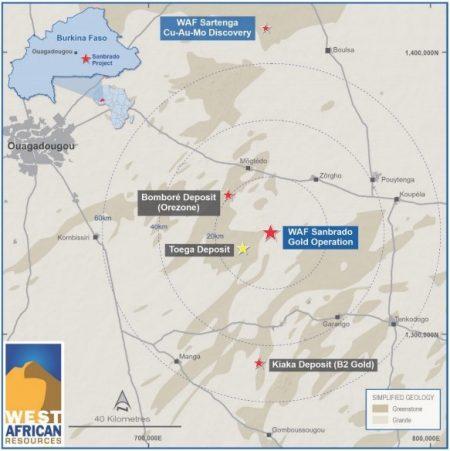 West African Resources To Acquire 1.1Moz Toega Gold Deposit From B2Gold For US$45 Million
