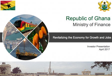 Investor Presentation - Revitalising the Economy for Growth and Jobs