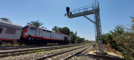 Alstom Puts Into Service The Quseia Sector Of The Beni Suef-Assuyt Railway Line In Egypt
