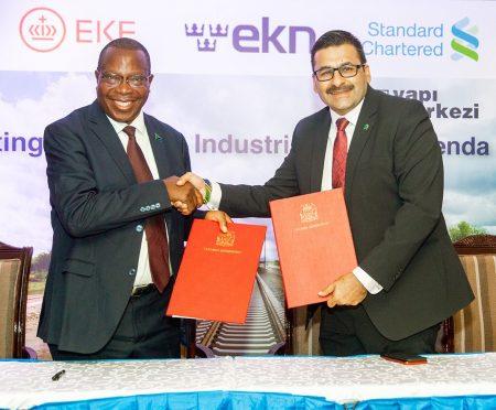 Standard Chartered Bank Arranges A US$ 1.46 Billion Financing To Fund The Standard Gauge Railway (SGR) Project
