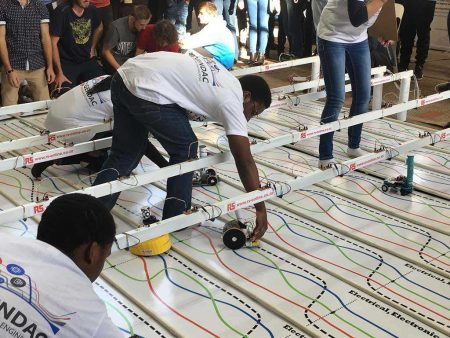 TUKS Students To Race Their Robots!