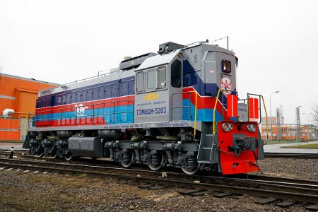 TMH Shipped Two Shunting Locomotives To Mongolia