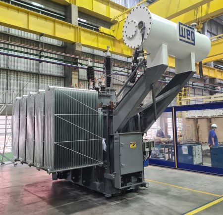 Traction Transformers From Zest WEG For Rail Network