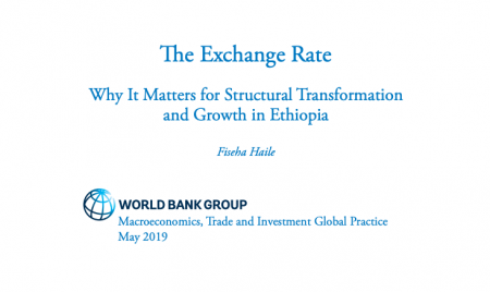 The Exchange Rate : Why It Matters for Structural Transformation and Growth in Ethiopia