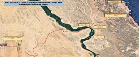 Egyptian National Railways Selects EPC Contractor For The Abu Tartour-Qena-Safaga Hurghada Cargo & Passenger Railway Track