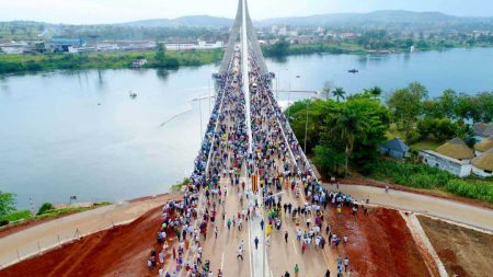 Commissioning Of The Source Of The Nile Bridge