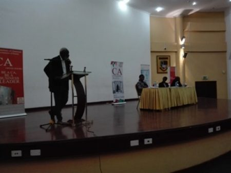 "ICAG Hosts Public Lecture On ""Ghana Beyond Aid"""