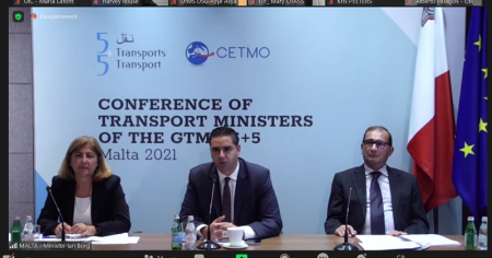 Tenth Conference Of Transport Ministers Of The Countries Of The Western Mediterranean (GTMO 5+5) Held