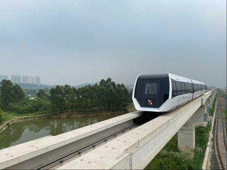 Liebherr HVAC Units On-Board Maglev Train In China