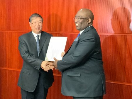 China Civil Engineering Construction Corporation (CCECC) Ready for Kumasi-Bechem Railway Project
