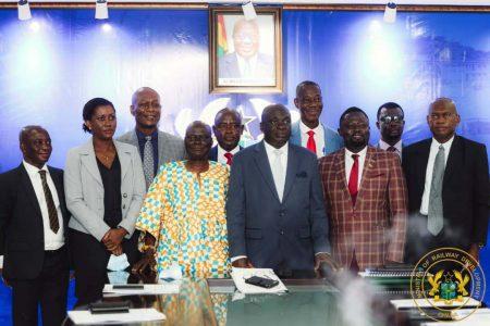 New Board Members For Ghana Railway Development Authority