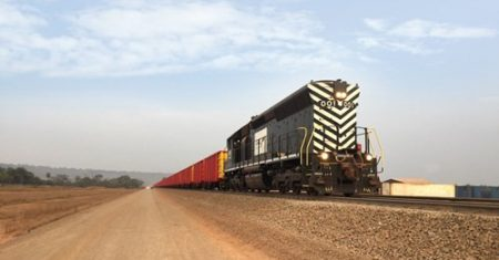 Milestone For EGA's Guinea Project As First Bauxite Train Travels From Mine To Coast