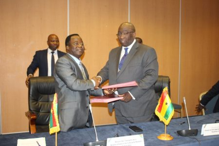Ghana-Burkina Faso Signs Final MoU On Railway Interconnectivity Project