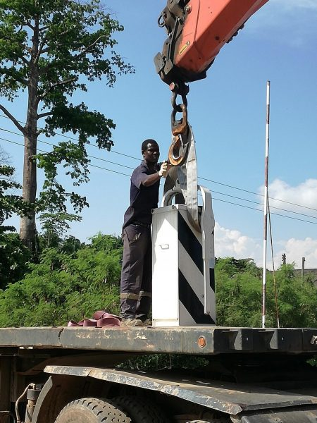 Wegh Group Provides Protection Systems For Level Crossing In Ghana