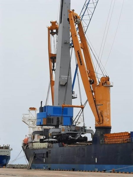New Mobile Crane To Boost Handling Capacity At The Port Of Kribi