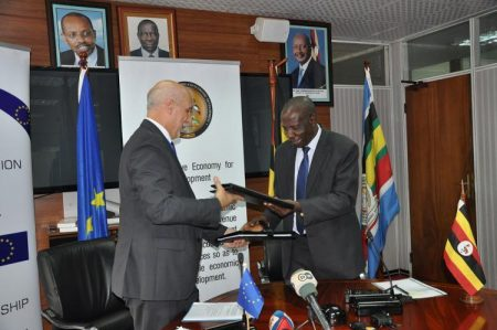 European Union Provides Uganda UGX 91 Billion To Rehabilitate Tororo-Gulu Railway