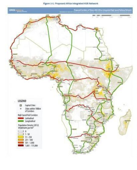 African Integrated High Speed Railway Network (AIHSRN): Connecting Africa Through Agenda 2063
