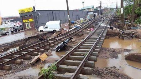 Extensive Damage Of KZN Metrorail Infrastructure