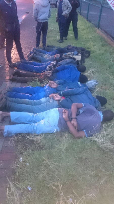 Cable Thieves Nabbed