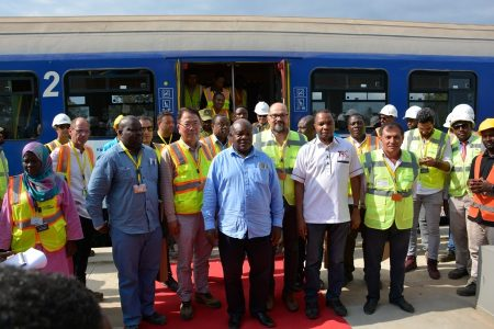 Tanzania SGR – First Test Drive