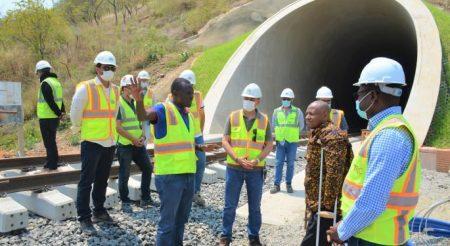 SGR Morogoro Project - Makutupora Reaches 70%