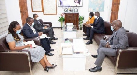 Meeting To Discuss The SGR Isaka - Kigali Project