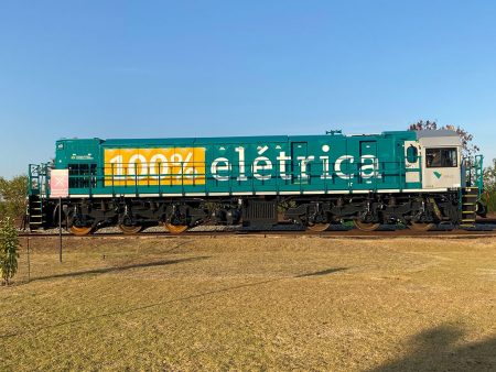 Vale's 100% Electric Locomotive Leaves The Factory