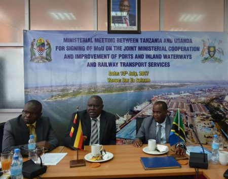 Tanzania And Uganda Signs MOU To Re-Open Mwanza -Port Bell Route