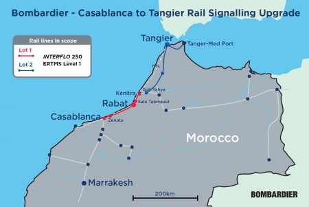 Bombardier Signalling Technology Improving Moroccan Rail Service