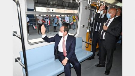 Fourth Phase Of Cairo Metro Line 3 Inaugurated