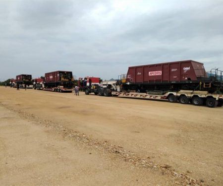 Bolloré Logistics Successfully Completed A Projects Shipment Between Belgium And Ghana