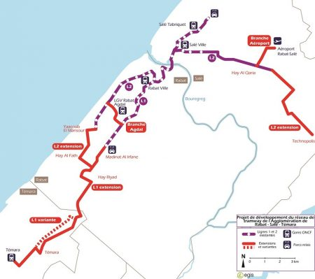Morocco: Development of the Tram Network of the Agglomeration of Rabat-Salé-Témara
