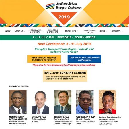 Southern African Transport Conference 2019 Draws Big Names In Transport