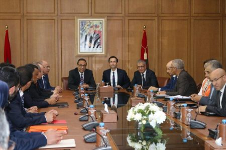 The Minister Of Economy And Finance Chairs The Signing Ceremony Of A Memorandum Of Understanding Between The State And The Moroccan National Railways (ONCF)