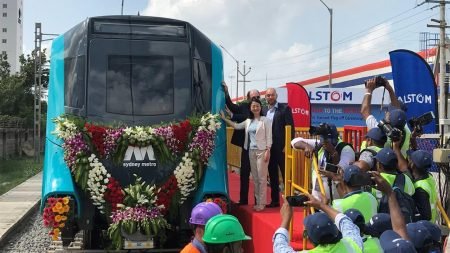 Alstom Successfully Delivers Last Train For Sydney Metro