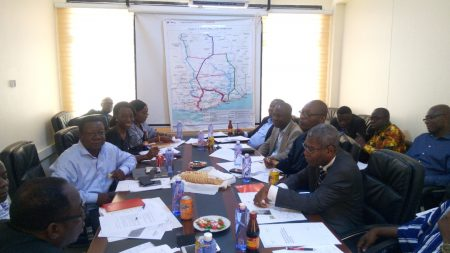 Technical Team Meets on Ghana-Burkina-Faso Railway Project