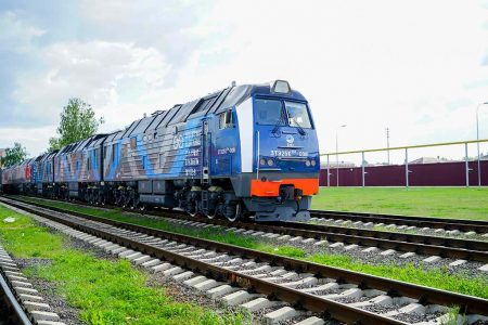 New TMH Diesel Locomotives To Transport Coal For Elga Coal Complex