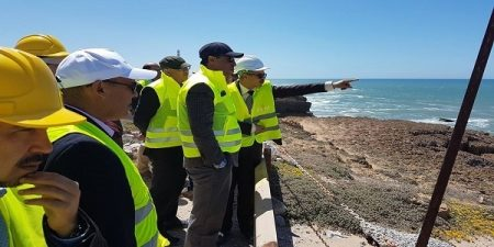 Minister Visits New Safi Port Construction Site