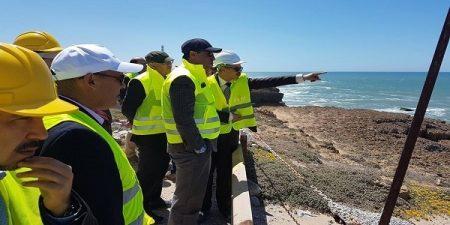 Minister Visits New Safi Port Construction Site