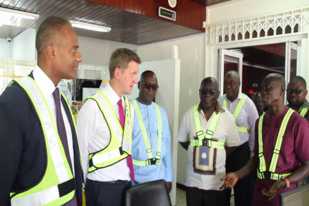 Special Delegation To Takoradi Port