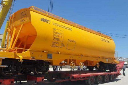 Tunisian National Railways Receives New Grain Wagons
