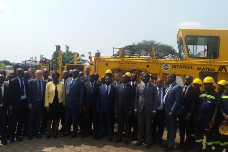 Work Starts On Railroad Between Côte d'Ivoire And Burkina Faso