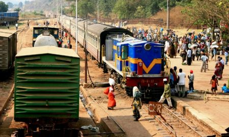 Accident Delays Passenger Train in Tanzania