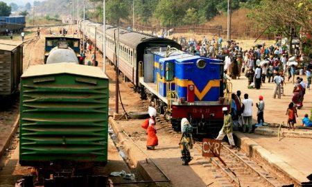 Accident Delays Passenger Train in Tanzania