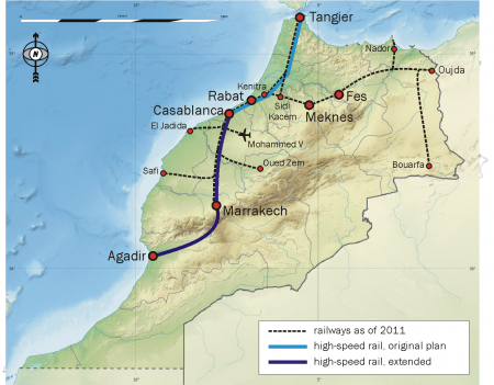 Africa's First High-Speed Railway Line Due To Commence Operations In June Next Year