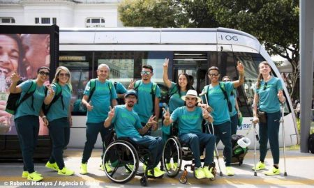 Alstom's Rio Tram Welcomed the 2016 Paralympics Games Athletes
