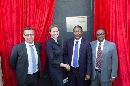 Bombardier Opens New South African Production Site and Headquarters