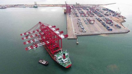 Capacity Upgrade at Congo Terminal with the Acquisition Of Two New STS Gantries