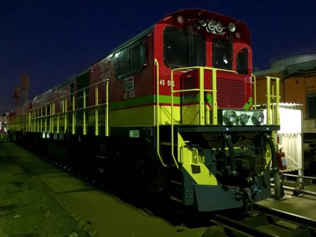 First Two Diesel Locomotives Handed Over to Transnet South Africa